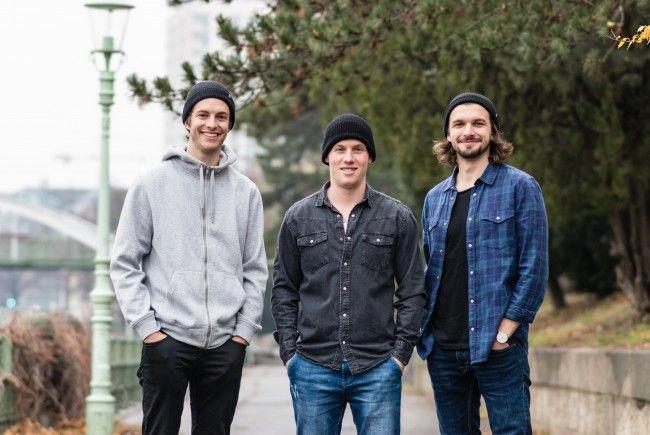 Das Team rund um timebite (v.l.): Die TU-Studenten Christoph Sprenger, Adrian Sauerwein und Emir Selimovic.