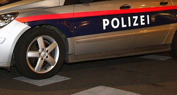 Drei Dienstfahrzeuge der Wiener Polizei wurden von dem 33-Jährigen beschädigt.