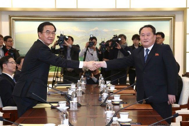 Südkorea schlug Nordkorea militärische Gespräche vor.
