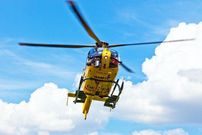 Ein Verkehrsunfall in NÖ forderte einen Schwerverletzten