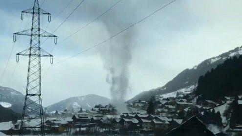 """Facebook-Video von """"Tornado"""" in Kärnten sorgt für Aufregung"""