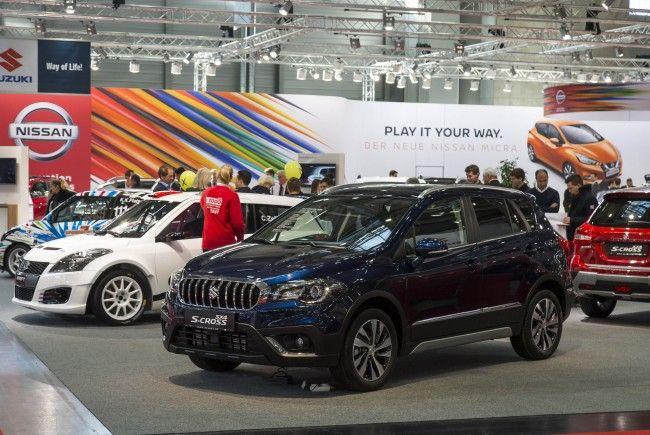 Bei der Vienna Autoshow in Wien gibt es ab 11. Jänner einige Neuheiten zu sehen.