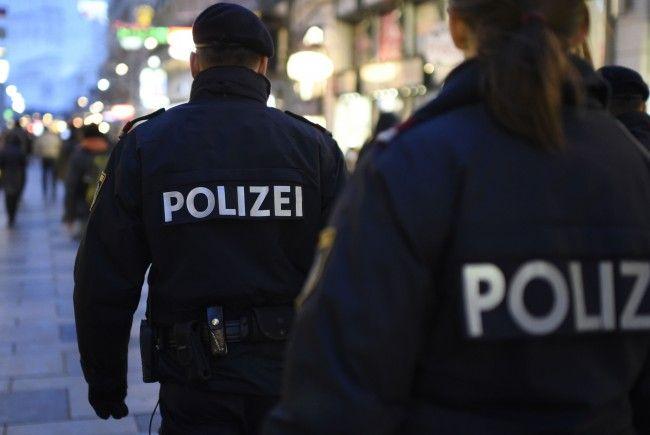 Ein Polizeieinsatz in der Wiener Innenstadt forderte Verletzte