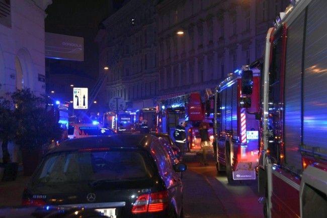 Bei dem Brand in Wien-Margareten kamen zwei Menschen ums Leben.
