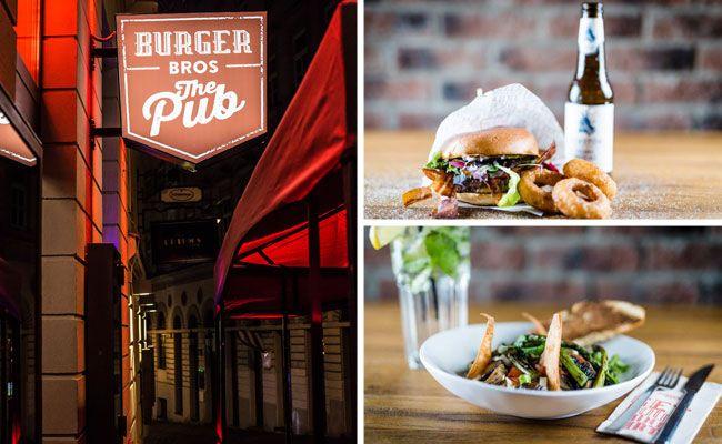 Das Burger Bros ist ein Lokal für Burger-Liebhaber.