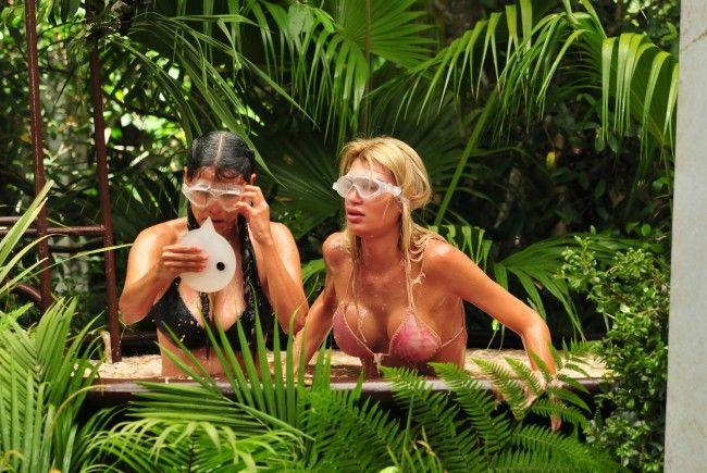 Jenny Frankhauser und Matthias Mangiapane müssen zusammen in die Dschungelprüfung