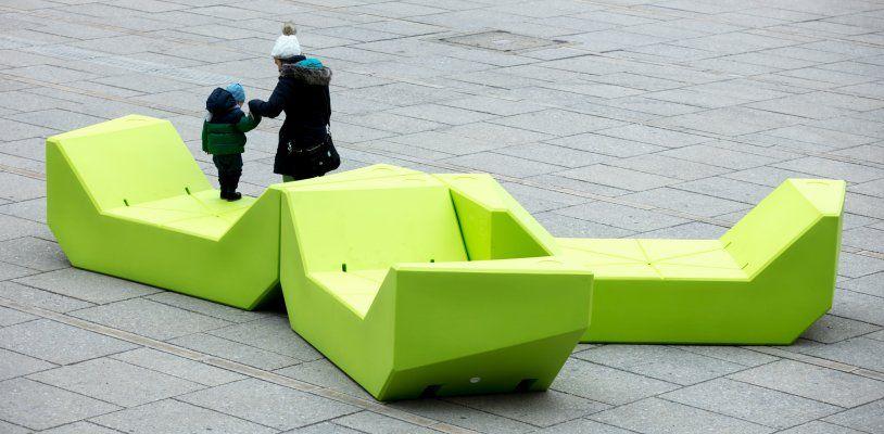 Grün, grün, grün ist schon wieder vorbei: Farb-Abstimmung für die neuen MQ-Möbel