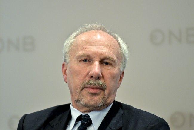 Ewald Nowotny sieht die Wirtschaftslage im Euroraum positiv.