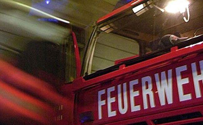 Die Berufsfeuerwehr Wien konnte den Brand rasch löschen.