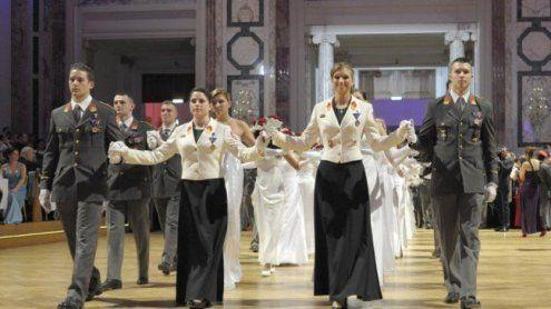 Ball der Offiziere in der Hofburg