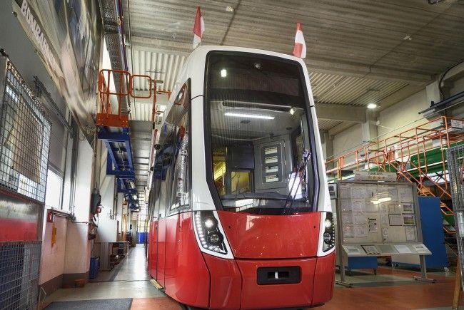 Die neue Flexity-Bim ist bereits ab Anfang 2018 in Wien auf Testfahrt.