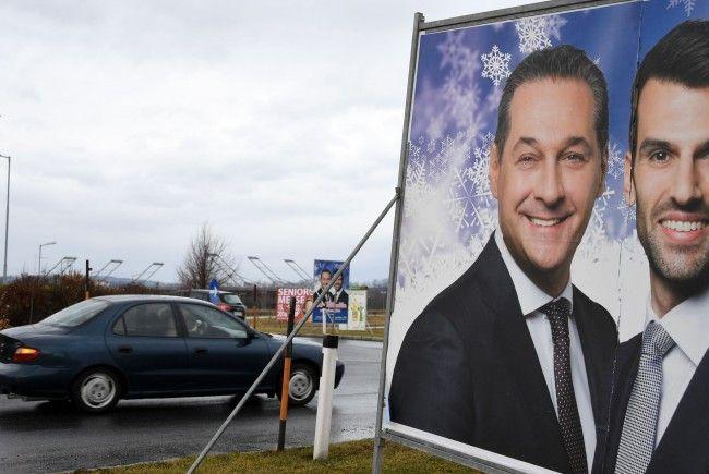 Die FPÖ könnte laut Experten bei allen vier Landtagswahlen zulegen.