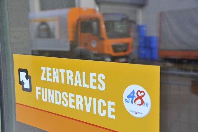 Seit 2014 ist die zentrale Drehscheibe für verlorene und gefundene Gegenstände innerhalb der Stadt Wien bei der MA 48 angesiedelt.
