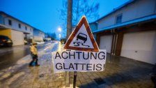 AUVA warnt vor Glatteis auf Wiens Straßen
