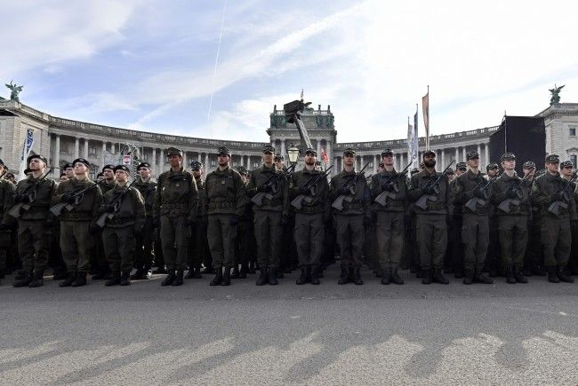 Der Grundwehrdienst in Österreich besteht seit 150 Jahren.