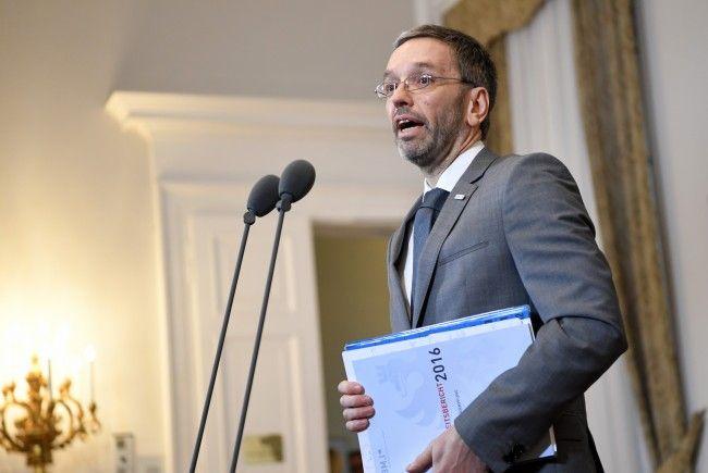 Innenminister Kickl: