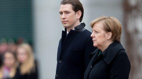 """Kurz lobt deutsche Asylpolitik: """"Problem ist aber nicht gelöst"""""""