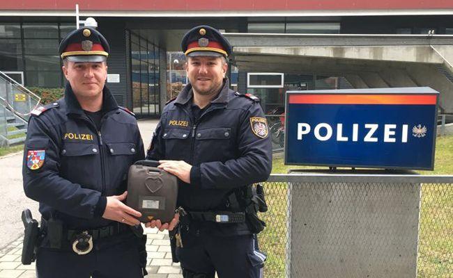 Polizisten retten 63-Jährigen in Wien-Favoriten