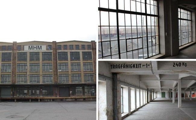 Die ehemalige Traktorfabrik in Wien-Floridsdorf wird durch Künstler belebt.