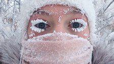 Skurrile Bilder vom kältesten Ort der Welt
