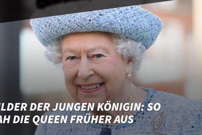 So sah die Queen früher aus