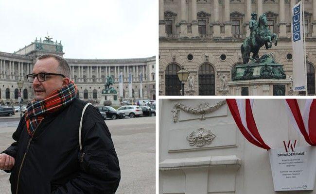 Andreas Brunner führt durch die Geschichte des schwul/lesbischen Wiens.