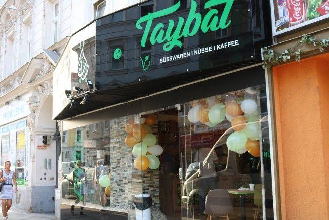 Das Süßwaren- und Spezialitätengeschäft Taybat in der Thaliastraße ist ein Beispiel für gelungene Integration.