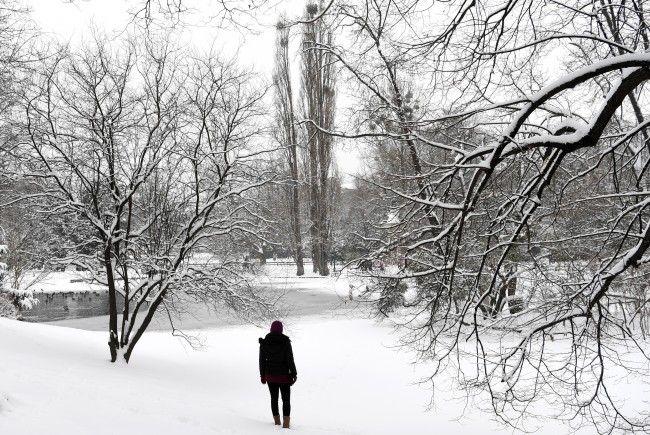 Das Wochenend-Wetter in Wien wird winterlich - eine schöne Alliteration.