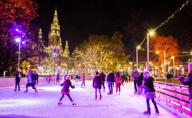 Der Wiener Eistraum ist von 19. Jänner bis inklusive 4. März 2018 geöffnet.