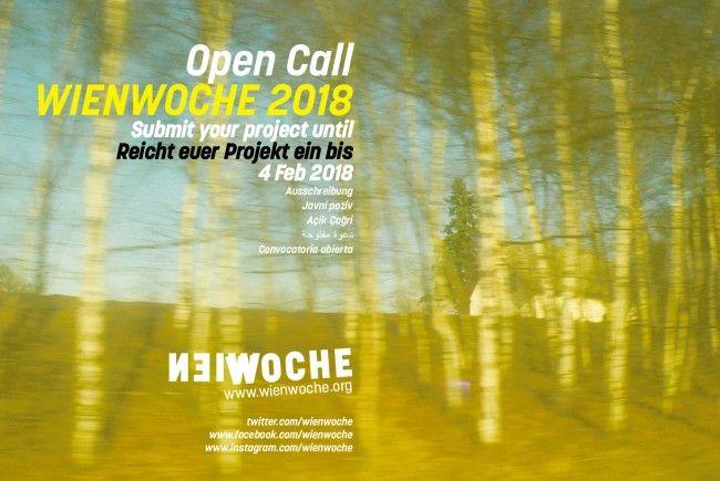 """Der Titel der """"Wienwoche"""" 2018 lautet """"Über Grenzen, Schleichwege und Gemeingut""""."""