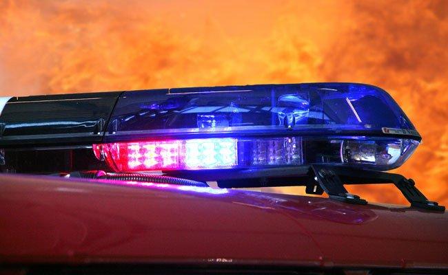 Ein Haus in Floridsdorf ging in Flammen auf.