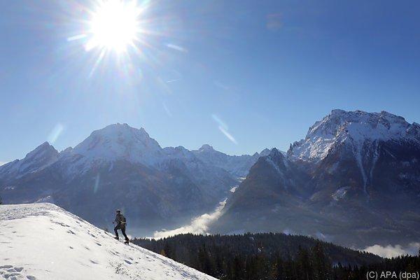 Die Alpen locken viele Gäste nach Österreich