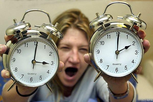 Die Uhren werden bei der Sommerzeit eine Stunde vorgestellt