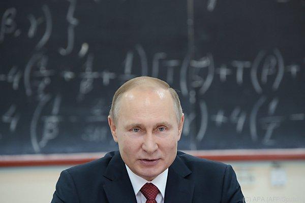 Russlands Präsident outet sich als Technik-Muffel