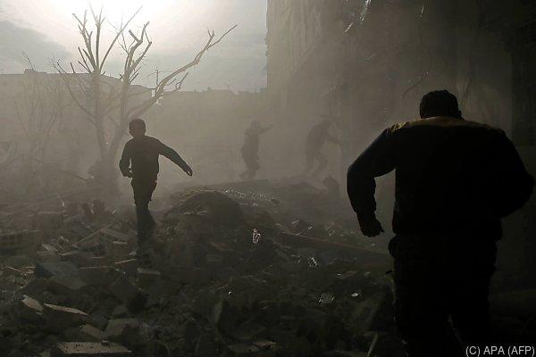 Die Lage in Syrien ist unverändert dramatisch