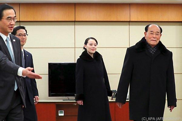 Erster Besuch eines Mitglieds der Kim-Familie in Südkorea