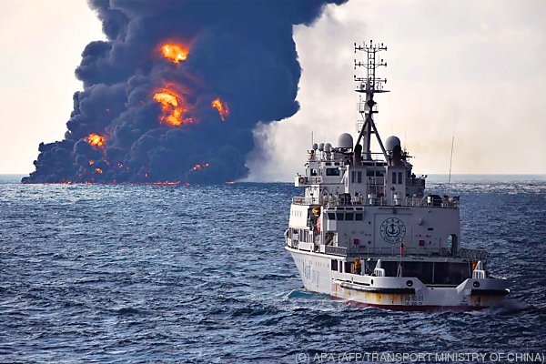 "In dem Tanker ""Sanchi"" soll noch immer Öl sein"