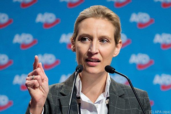 Fraktionschefin Alice Weidel plant eigenen Newsroom für die AfD