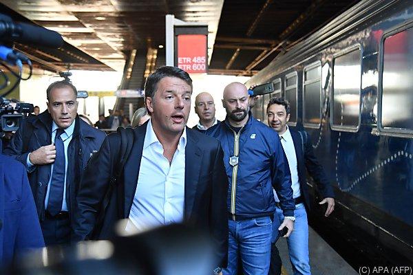 """PD-Chef Matteo Renzi will """"kein Abkommen mit Extremisten"""""""