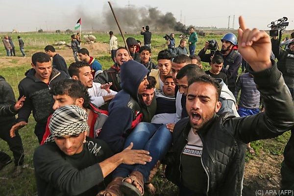 Hamas rief zu Protesten auf