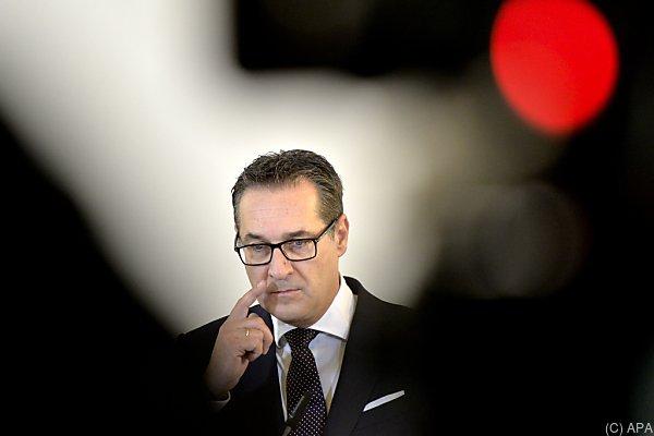 Strache schießt sich vehement auf den ORF ein