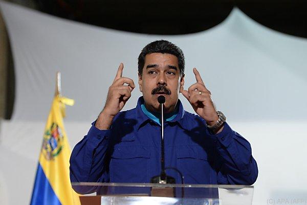 Präsident Maduro wird immer mehr zur Persona non grata