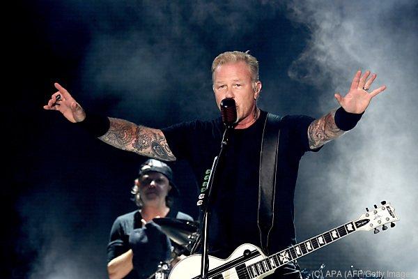 Hohe Ehre für US-Band Metallica