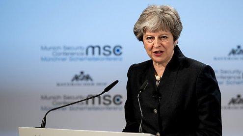 May will Sicherheitsabkommen mit EU bis Ende 2019 schließen