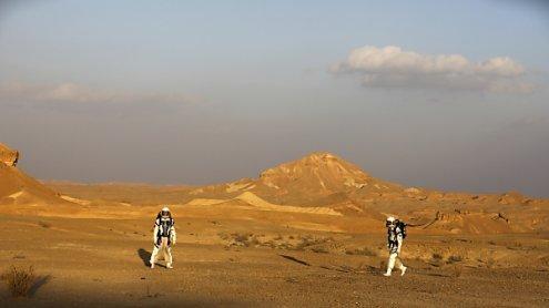 Israelische Forscher simuliertenin Wüste Leben auf dem Mars