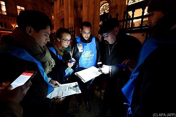 Freiwillige zählten Obdachlose