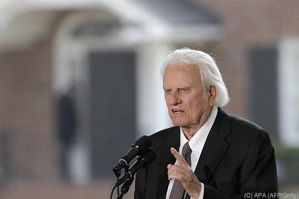 Billy Graham starb im Alter von 99 Jahren