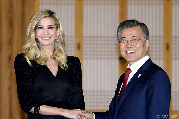 Ivanka Trump zu Gast in Südkorea