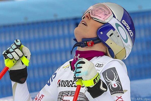 Lindsey Vonn Doppelsiegerin in Garmisch