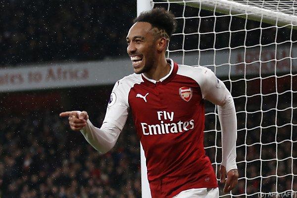 Aubameyang traf bereits einmal für Arsenal
